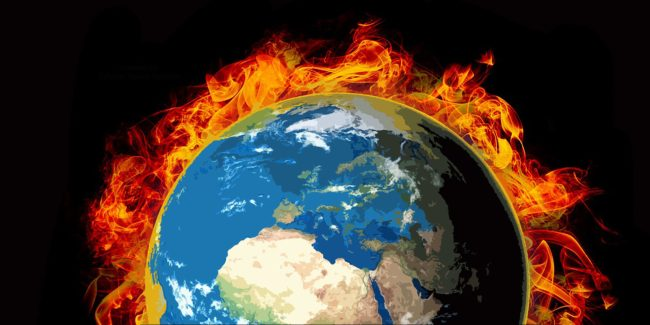 Our Burning Planet